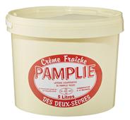 Pamplie Crème frâiche des Deux-Sèures 38 % Fettgehalt 5 kg Eimer