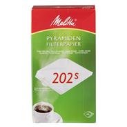 Melitta Pyramiden-Filterpapier 202 S 100 Stück Packung