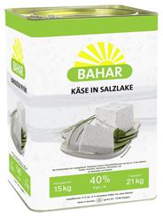 Bahar Weichkäse in Salzlake aus Kuhmilch, 40 % Fett i. Tr. 15 kg Kanister