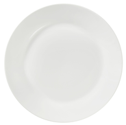 aro Teller flach Ø 24 cm, Porzellan, Weiß