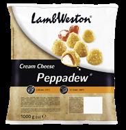 Lamb Weston Cream Cheese Peppadews vorgebacken 6 x 1 kg Becher