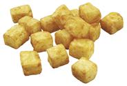 Lamb Weston Seasoned Crispy Cubes tiefgefroren, vorgebacken, gewürzt, einzeln entnehmbar 4 x 2,5 kg Becher