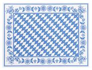 Dunicel Tischset Bayerische Raute 5 x 100 Stück Packungen