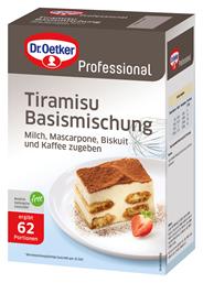 Dr. Oetker Professional Tiramisu Basismischung 1 kg Packung