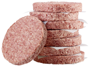 Salomon Hitburger Classic Hamburger, roh, tiefgefroren, 21 Stück à 226 g 4,75 kg Karton
