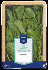 METRO Chef Basilikum Israel - 100 g Packung