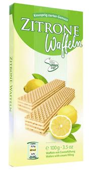 Spreewaffel Cremewaffeln Zitrone 100 g Paket