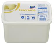 aro Eiscreme Vanillegeschmack 6 l Packung