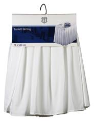 H-Line Blankett-Skirting 73 x 580 cm weiß
