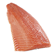 Horeca Select SCC Norwegisches Bömlo Lachsfilet frisch, mit Haut, TRIM D, 3/4 Stücke 5 kg