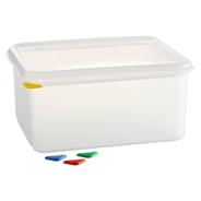 Horeca Select GN-Vorratsbehälter mit Deckel 10 l, GN 1/2 150 mm