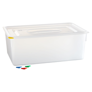 Horeca Select GN-Vorratsbehälter mit Deckel 28 l, GN 1/1-200 mm