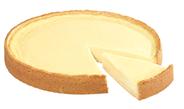 Aro Käsekuchen tiefgefroren, individuell portionierbar, Ø 26 cm 1,25 kg Packung