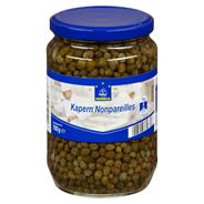 Horeca Select Kapern Nonpareilles feine kleine Kapern, eingelegt in einer sauren salzigen Lake 720 ml Glas