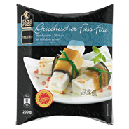 Fine Food Finestro Griechischer Feta Mind. 48 % Fett i. Tr., im Holzfass gereift 200 g