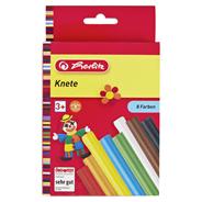 Herlitz Knete 8 Farben
