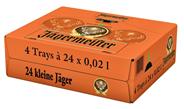Jägermeister 35 % Vol. - 96 x 20 ml Tray