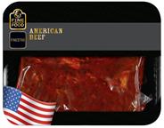 METRO Premium American Beef Nackensteaks in Paprika-Kräuter-Marinade 2 Stück à ca. 400 g, vak.-verpackt - je kg