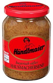 Händlmaier Hausmacher Senf süß 140 x 335 ml Gläser