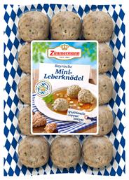 Zimmermann Bayerische Leberknödel 15 Stück à 25 g 375 g Packung