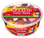 Haribo Color-Rado 1 kg Dose