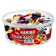 Haribo Color-Rado 96 x 1 kg Dosen
