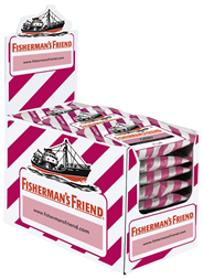 Fisherman's Friend Cherry ohne Zucker 24 x 25 g Beutel