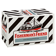 Fisherman's Friend Salmiak ohne Zucker 24 x 25 g Beutel