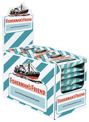 Fisherman's Friend Spearmint ohne Zucker 24 x 25 g Beutel