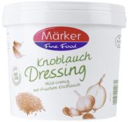 Märker Knoblauch Dressing cremig mit frischem Knoblauch 5 l Eimer