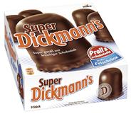 Dickmann Super Schokoschaumküsse 9 Stück á 28 g 250 g Schachtel