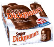 Dickmann Super Schokoschaumküsse 9 Stück á 28 g 66 x 250 g Schachteln