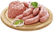 QS Thüringer Mett frisch, aus Schweinehackfleisch, gewürzt, Atmos-verpackt ca. 2,5 kg Packung