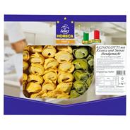 Pastai in Brianza Agnolotti mit Ricotta & Spinat frische Eierteigware, handgemacht 1 kg Packung