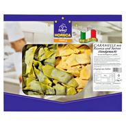 Pastai in Brianza Caramelle mit Ricotta und Spinat frische Eierteigware, handgemacht 1 kg Packung