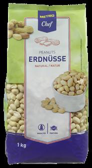 Horeca Select Erdnusskerne natur 1 kg Beutel