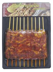 Lammspieße mariniert frisch, 10 Stück, vak.-verpackt 235 g Packung