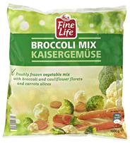 Fine Life Kaisergemüse Karotten, Blumenkohl, Broccoli 1 kg Beutel