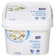 Horeca Select Mykos Käse nach Balkan Art gewürfelt, 45 % Fett, in Lake 1,8 kg Eimer