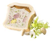 Swiss Gourmet Kalbfleisch Pate Kalbfleischpastete im Teigmantel mit Aspik 300 g