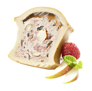 Swiss Gourmet Hirschfleisch Pâté Wildpastete mit Pilzen 300 g Packung
