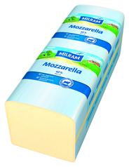 Milram Mozzarella schnittfest, 40 % Fett i. Tr. ca.3 kg Stücke