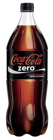 Coca Cola Zero in der PET Flasche 192 x 1,5 l Flaschen