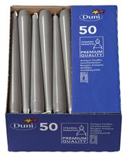 Duni Leuchtkerzen Granit 250 x Ø 22 mm 50er Packung