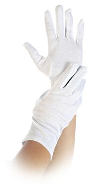 Hygostar Baumwollhandschuhe BLANC Weiß/ Gr. M 6 Stück Paket