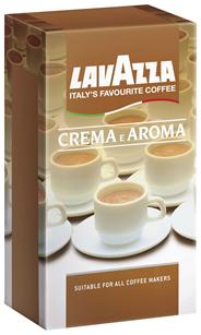 Lavazza Crema e Aroma gemahlen 1 kg Vac.-Dose