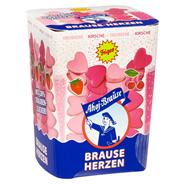 Ahoj-Brause Brause-Herzen mit Traubenzucker Erdbeer- und Kirsch-Geschmack 125 g