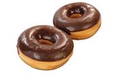 Rioba Black Crumble Donut tiefgefroren, 12 Stück - 620 g Packung