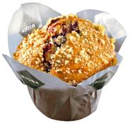 Rioba Blueberry Muffins 12 Stück à 100 g, verzehrfertig 3 x 1,2 kg Packungen