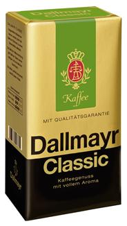 Dallmayr Röstkaffee Classic gemahlen, vak.-verpackt 500 g Packung